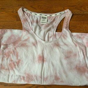 Victoria's Secret Pink tie dye tank top